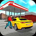 Taxi Sim 2020: 3d Car Driving Game icon
