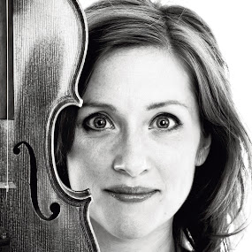 The Violinist by Phil Portus - People Portraits of Women ( face, female, musician, people, women, violinist )