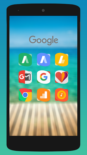 Rassy UX - Icon Pack app for Android screenshot