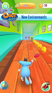 Oggy 3D Run Apk MOD (Unlimited Coins) 4