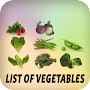 List of vegetables APK icon