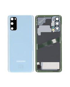 Galaxy S20 Back Cover Blue