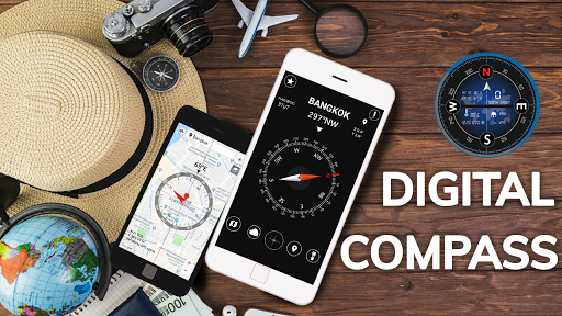 Digital Compass for Android 10.68 screenshots 1