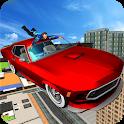 Hollywood Rooftop Car Jump: Stuntman Simulator icon