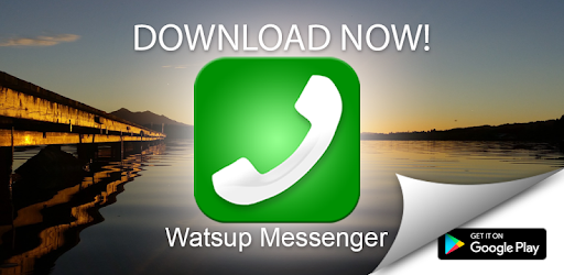 Watsup Messenger app (apk) free download for Android/PC/Windows screenshot
