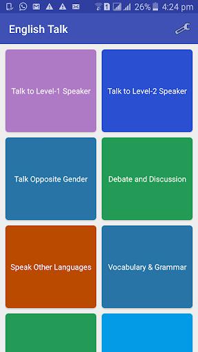 english talk: incognito speaking screenshot 1