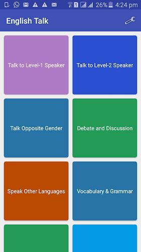 Download English Talk : Strangers English speaking practice APK