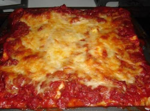 """Hearty Lasagna for Two """"I have made this several times and absolutely..."""