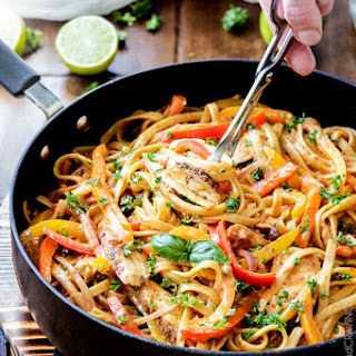 Chicken And Pasta With Tomato Alfredo Sauce Recipes