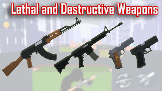 Stickman Cover Fire Shooting MOD Apk 2.5 (Unlimited Lives) 5