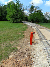Photo: The new raised remote switch stand by Ken Smith.     HALS Public Run Day 2014-0419 RPW 11:48 AM