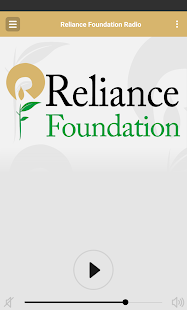 Reliance Foundation Radio- screenshot thumbnail