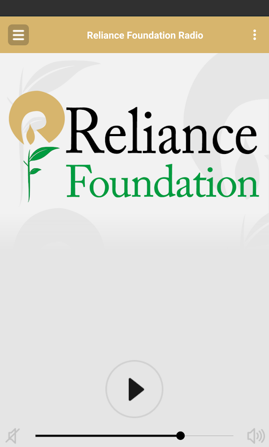 Reliance Foundation Radio- screenshot