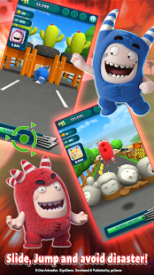 Oddbods Turbo Run Screenshot
