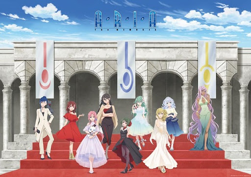 ARIA Anime Series' First Official Exhibition
