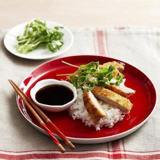 Japanese Pork Chop with Teriyaki Glaze.