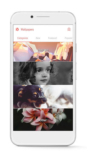 GO Launcher - 3D parallax Themes & HD Wallpapers screenshot 8