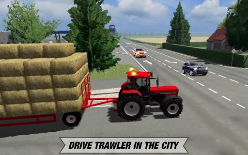 Tractor Cargo Transport: Farming Simulator apkpoly screenshots 13