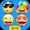 (APK) تحميل لالروبوت / PC Emoji Keyboard - Cute Emoji,GIF, Sticker, Emoticon تطبيقات