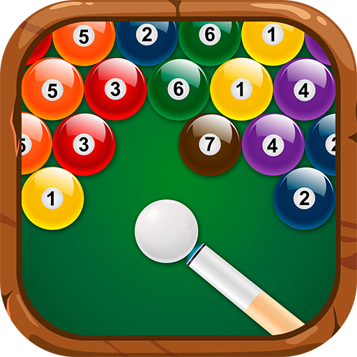 体育竞技のビリヤードのボールを撃ちます LOGO-記事Game