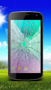 Broken Cracked Screen - Prank screenshot 2