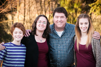 Photo: Bonham Family - Est. 1992  Wanna see my family? I knew you did.  Here's a shot I took of us at Thanksgiving to put on our Christmas card. Alex (12), Kathi (29), Me (72) and Brianna (16). Sadly Owen d' Poodle was left out, maybe he'll be in it next year.  #portraittuesday - +Laura Balcand +Tana Teel