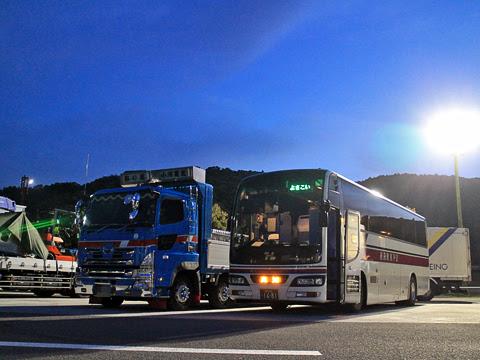 阪急バス「よさこい号」 2891 南国SAにて その1