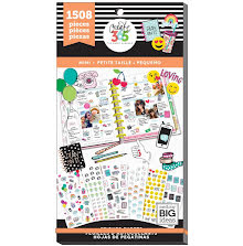Me & My Big Ideas Happy Planner Sticker Value Pack - Mini Icons