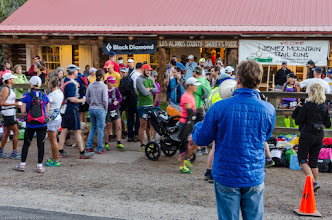 Photo: Before the run; Jemez Mountains Trail Run