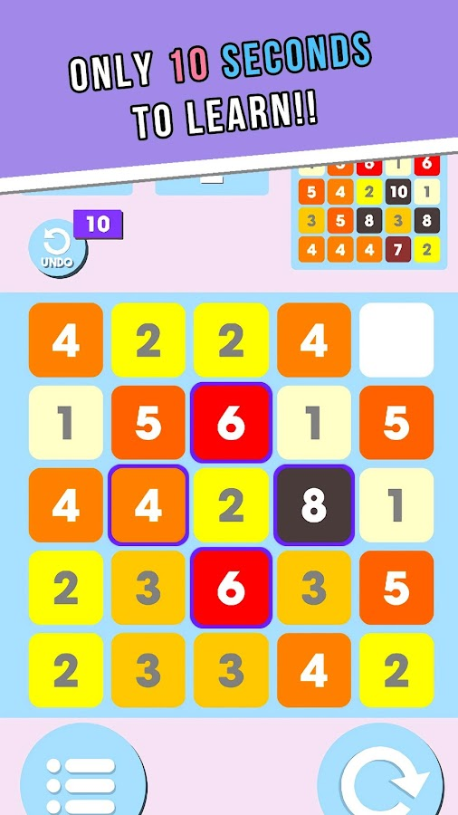 Cross One :Number Stack Puzzle- screenshot