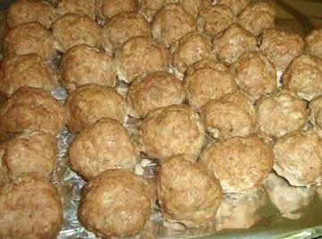 Chelle's Famous Turkey Meatballs Recipe