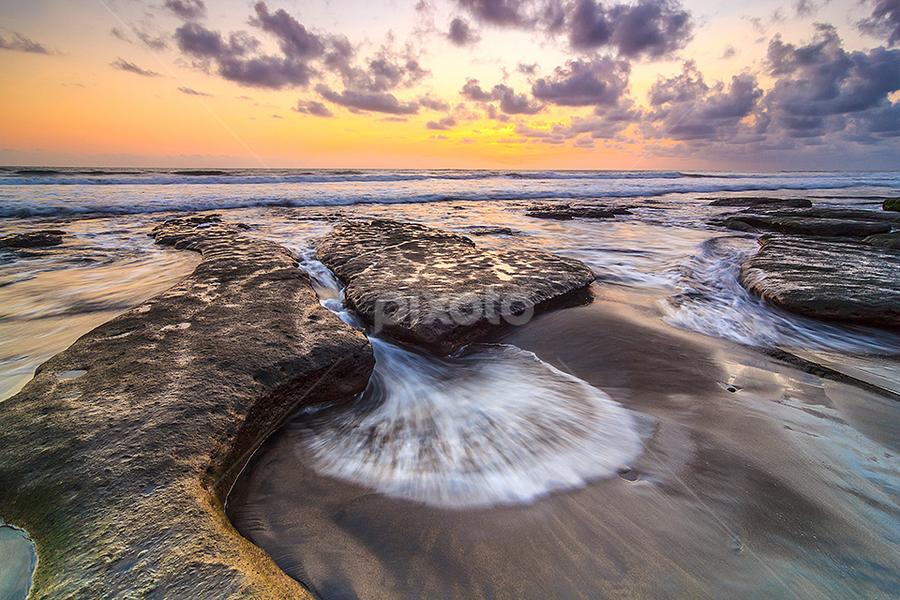 Fungi Form Wave Motion by Budi Astawa - Landscapes Waterscapes ( water, bali, wave, batulumbang, tabanan )