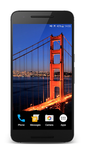 Golden Gate Live Wallpaper