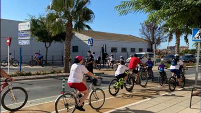 Inauguración del nuevo tramo carril bici en Pulpí.