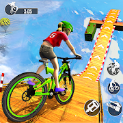 BMX Racing Mega Ramp Stunts