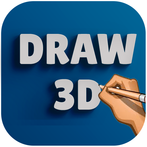 App Insights: How to draw 3D Drawing step by step easy