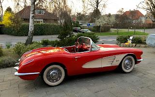 Corvette C1 Rent Fyn