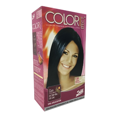 tinte slik color efect kit 1.08 negro azulado