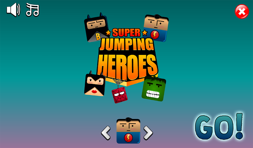 android Super Jumping Heroes Screenshot 3