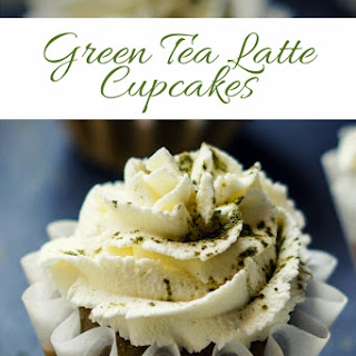 Green Tea Latte Cupcakes.