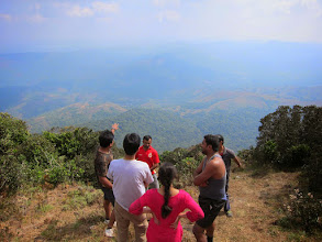 Photo: You see, that's where we climbed up in 4.5 hours