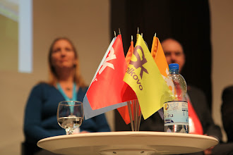 """Photo: Final panel discussion - """"Communicating Science & Innovations""""- 2012"""