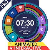 Anima Watch Face Pro - Wear 1.0 + Higher