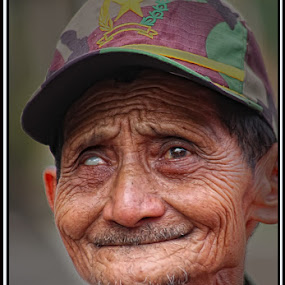 The old men by Awan Setiawan - People Portraits of Men