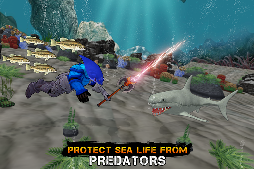 Requin humain: le nouveau héros monte  captures d'écran 4