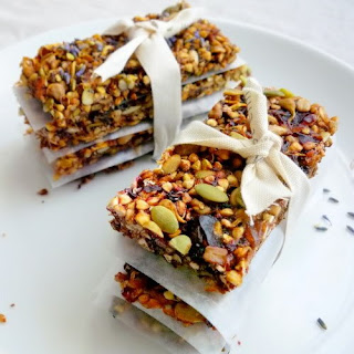 Raw Apricot and Plum Breakfast Biscotti with Lavender and Cardamom