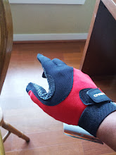Photo: The power of the Racquetball Glove!