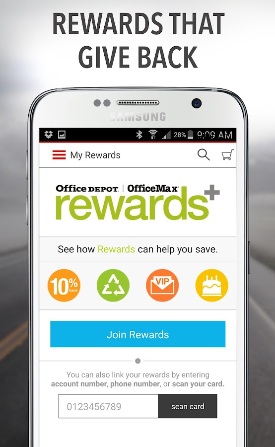 Office Depot®- Rewards & Deals- screenshot
