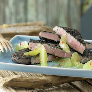Cumin-Crusted Tuna