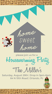 Housewarming invitation card maker android apps on google play housewarming invitation card maker screenshot thumbnail stopboris Choice Image